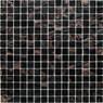 Exklusives Mosaik Jade 001 dunkelbraun 32,7x32,7 cm – Bild 1