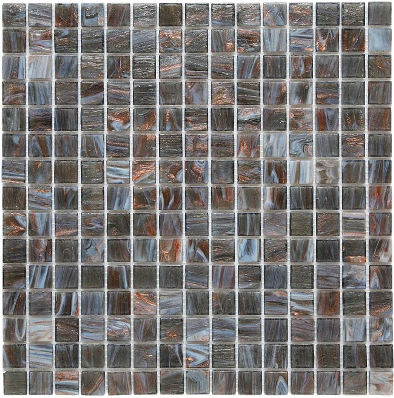 Exclusiv Mosaic Tile Jade Mosaic 017 grey 32,7x32,7 cm