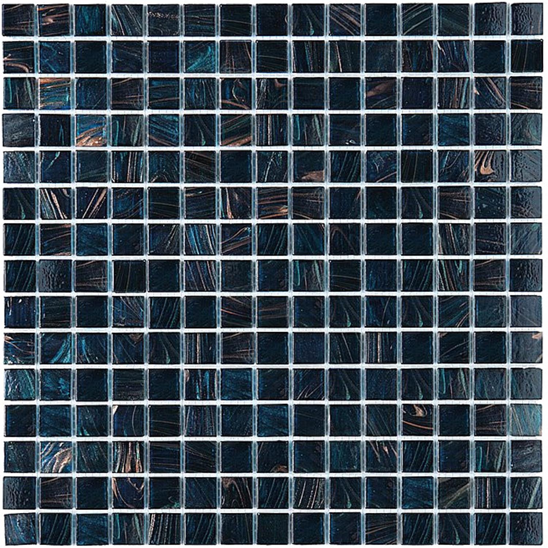 Exclusiv Mosaic Tile Jade Mosaic 104 Dark blue 32,7x32,7 cm