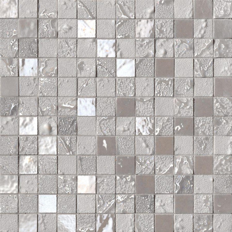 Exclusiv Mosaic Tile silver Four Seasons Autumn 30x30 cm