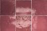 Wandfliese Artisan Burgundy Equipe Retrofliese Weinrot 13,2x13,2 cm – Bild 4