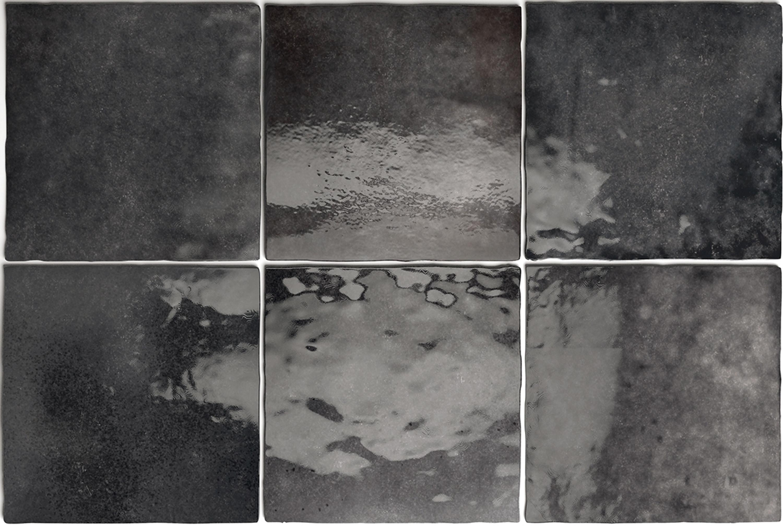 Wandfliese Artisan Graphite Equipe Retrofliese 13,2x13,2 cm – Bild 4