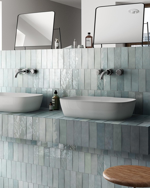 Wall tile Artisan Aqua Equipe 6,5x20 cm Retro tile