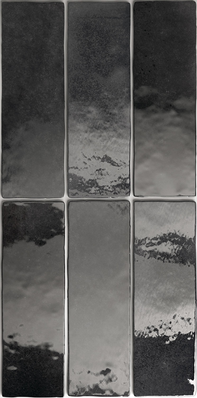 Wandfliese Artisan Graphite Equipe Retrofliese 6,5x20 cm – Bild 3