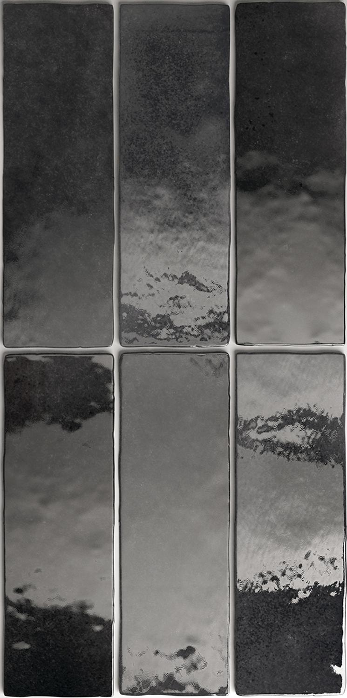 Wandfliese Artisan Graphite Equipe Retrofliese 6,5x20 cm– Bild 3