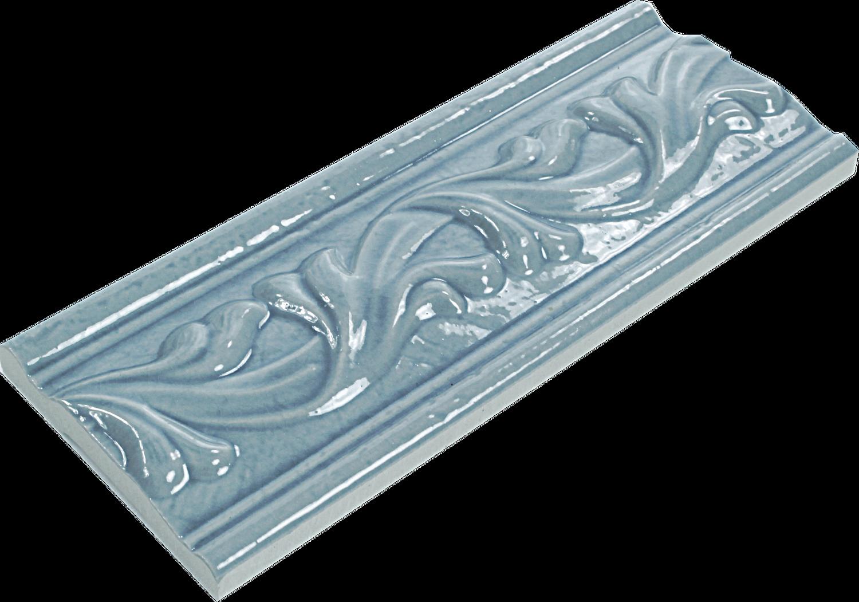Bordüre Craquele Marine Blau 8x20 cm– Bild 2