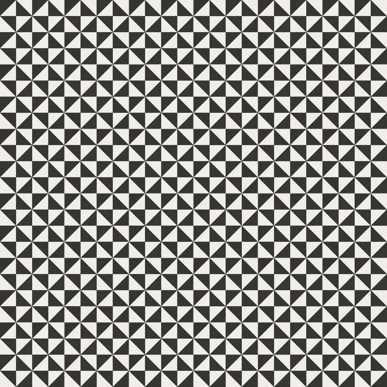 Zementfliesenoptik Schwarz/Weiß TERRADES GRAFITO 20x20 cm      – Bild 3