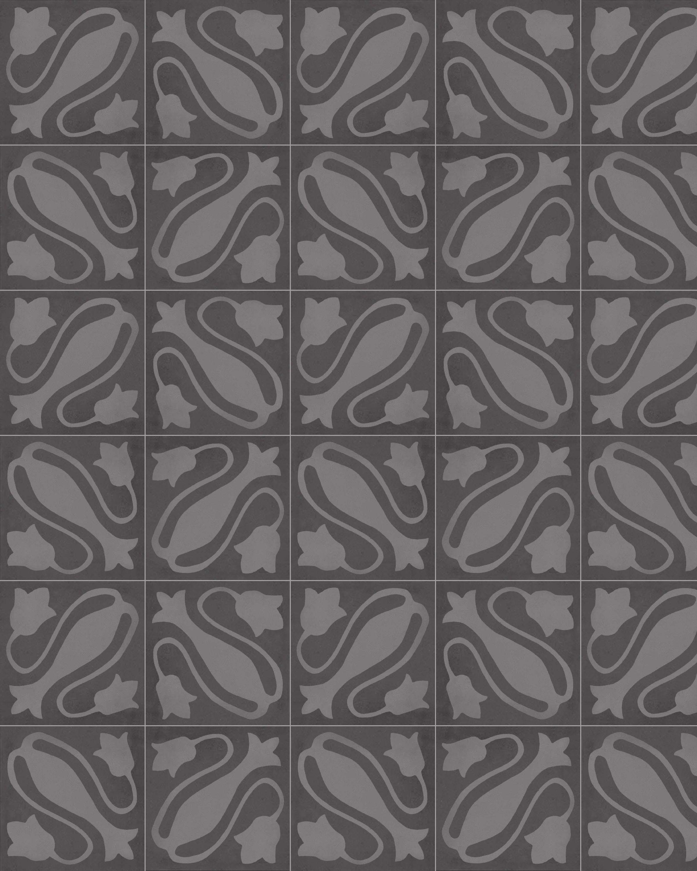Zementfliesenoptik MAESTRE CENIZA 20x20 cm        – Bild 1