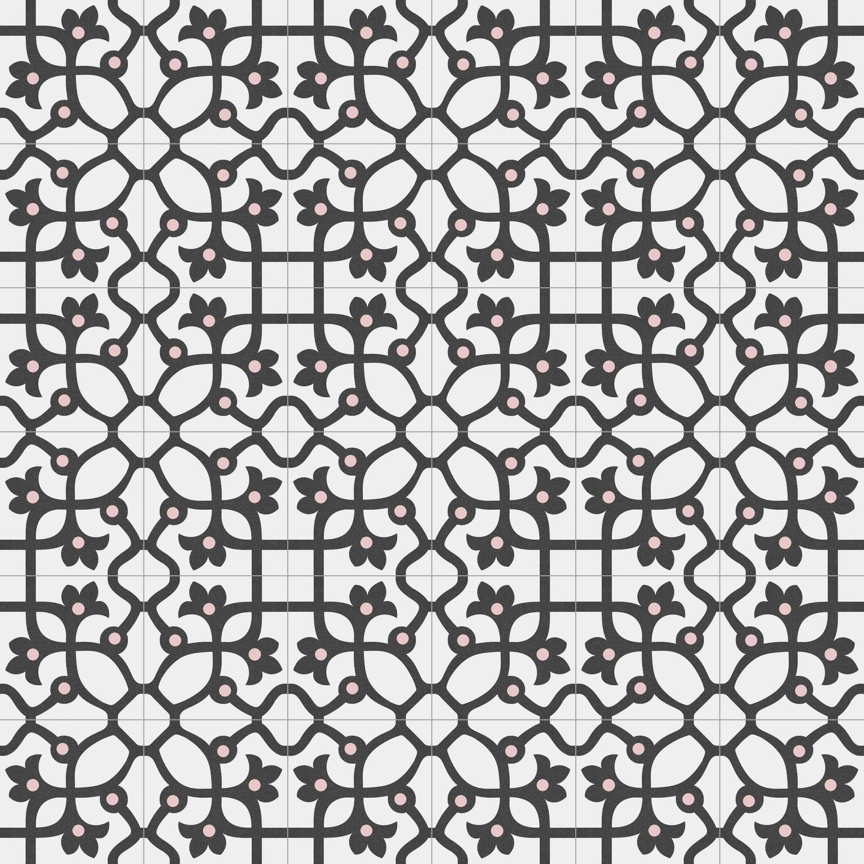 Zementfliesenoptik JUJOL GRAFITO 20x20 cm         – Bild 3