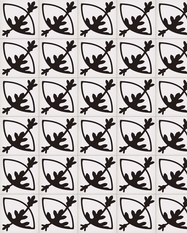 Zementfliesenoptik ROTJEN BASALTO 20x20 cm       – Bild 1
