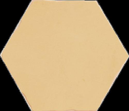 Bodenfliese Sechseck Ocker Antik NOMADE OCRE 13,9X16