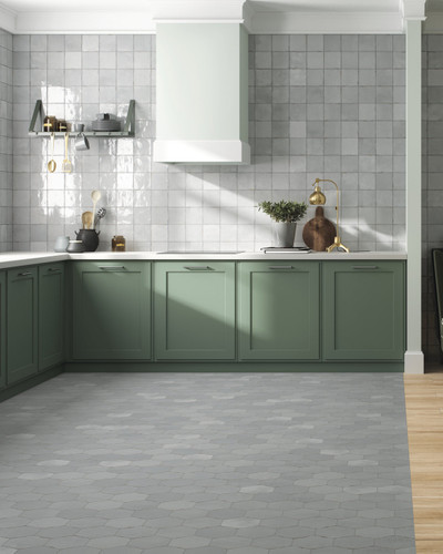 Floor Tile Antique NOMADE GREY 13,9X16
