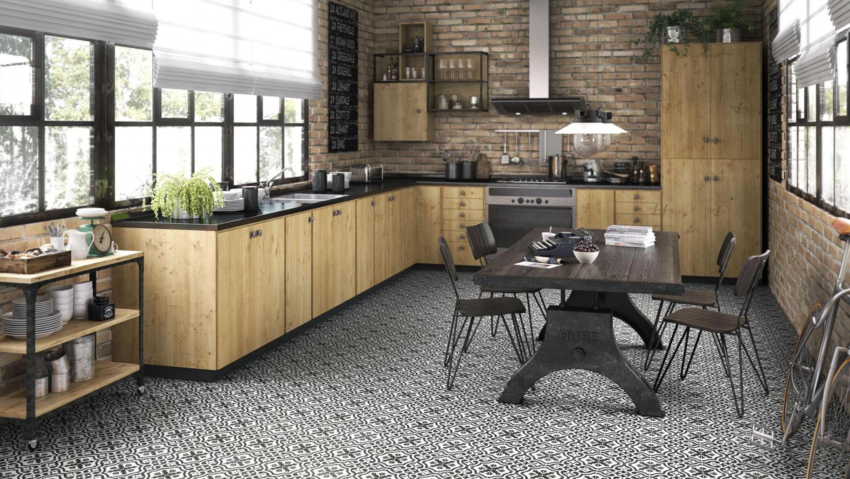 Floor Tile Wall Berkeley Charcoal 45 X Cm