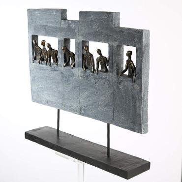 SKYLINE Skulptur Statue DekoArt – Bild 2