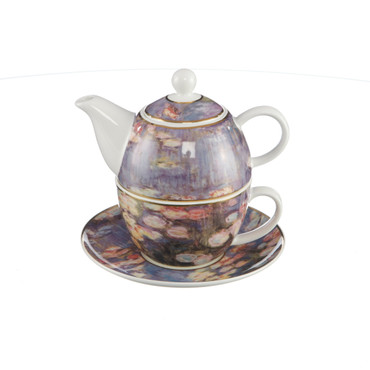 LE BASSIN AUX NYMPHÉAS Tea for One Claude Monet – Bild 2