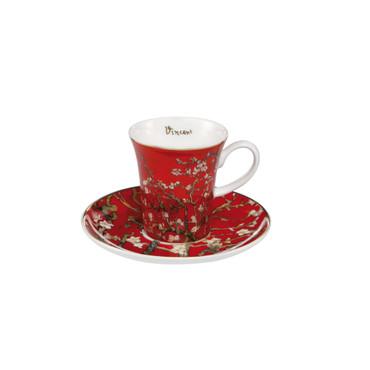 L' AMANDIER EN FLEURS Espresso-Set Vincent van Gogh