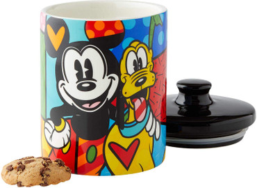MICKEY & PLUTO Cookie Jar Romero Britto – Bild 2