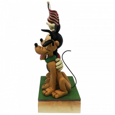 A BANNER DAY Mickey & Pluto Skulptur Jim Shore – Bild 4
