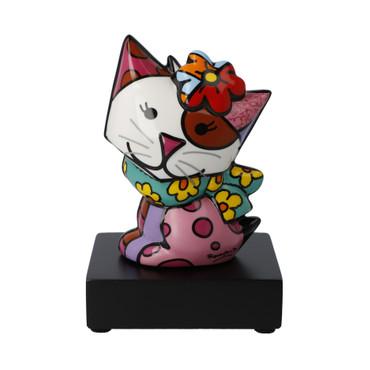 FLOWING Katze Figur Romero Britto – Bild 1