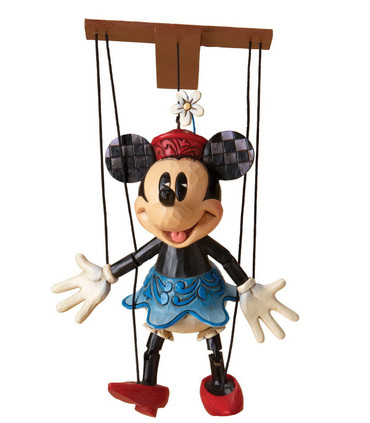 MINNIE Marionette Jim Shore