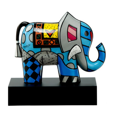 GREAT INDIA 2 Skulptur Romero Britto