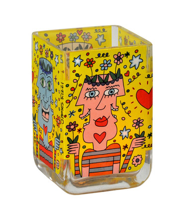 FLOWER POT HEADS Windlicht James Rizzi