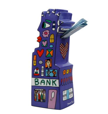 MY POINTY PIGGY BANK Spardose James Rizzi