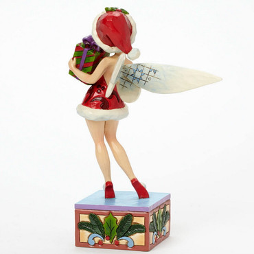 "DISNEY Skulptur - ""TINKER BELL - Holiday Wishes"" Jim Shore Figur 4041808 NEU !! – Bild 2"