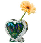 A PEACE OF MY WORLD Vase James Rizzi 001