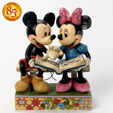 "DISNEY-Skulptur - ""MICKEY & MINNIE 85 th""  - Jim Shore Figur - 4037500  NEU"