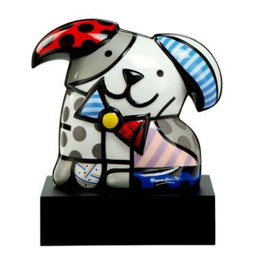 GINGER - Skulptur Hund - Romero Britto