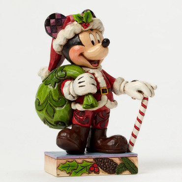 HOLIDAY CHEER FOR ALL Mickey Mouse Figur Jim Shore  – Bild 2