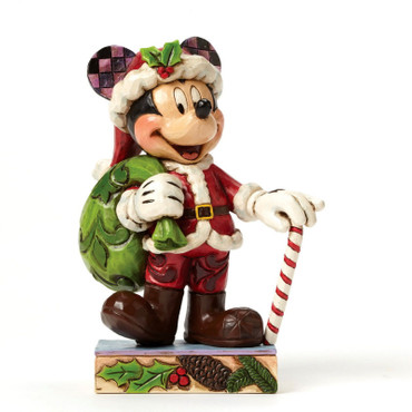 HOLIDAY CHEER FOR ALL Mickey Mouse Figur Jim Shore  – Bild 1
