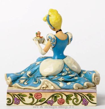 "DISNEY - Skulptur - ""CINDERELLA, GUS & JAQ"" - Jim Shore Figur 4037511 - NEU !! – Bild 2"