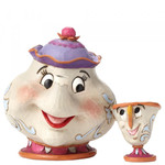 A MOTHER'S LOVE Mrs.Potts & Chip Figur Jim Shore 001