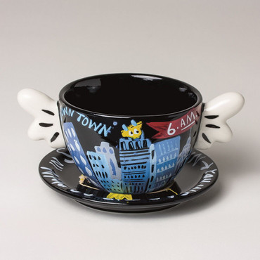 "SELWYN SENATORI - Senatori Town Collection ""Kaffeetasse Graveyard Shift"" Pop Art"