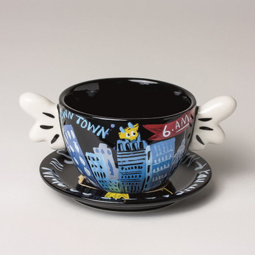 "SELWYN SENATORI - Senatori Town Collection ""Kaffeetasse Graveyard Shift"" Pop Art – Bild 5"