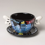 "SELWYN SENATORI - Senatori Town Collection ""Kaffeetasse Graveyard Shift"" Pop Art 001"