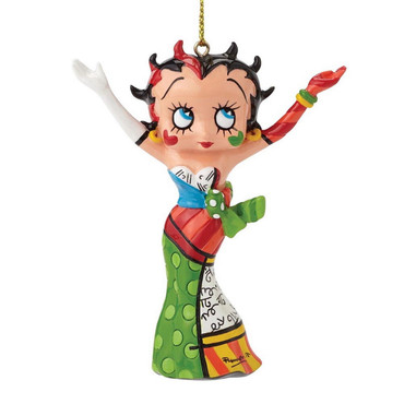 "ROMERO BRITTO - BETTY BOOP ""CHRISTMAS HANGING ORNAMENT"" Figur 4046450 NEU !! – Bild 4"