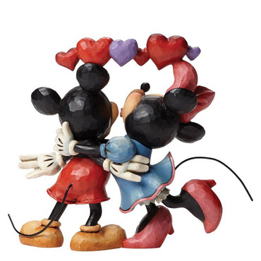 "DISNEY Skulptur ""LOVE - MICKEY & MINNIE MOUSE"" Jim Shore Figur 4046038 - NEU !! – Bild 3"