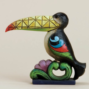 "HEARTWOOD CREEK Skulptur - ""MINI TOUCAN - TUKAN"" - Jim Shore Figur 4031234 NEU!! – Bild 1"