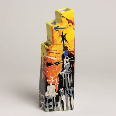 "SELWYN SENATORI - Senatori Town Collection - ""Skyline 5th"" - Pop Art Vase – Bild 1"