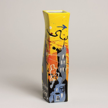 "SELWYN SENATORI - Senatori Town Collection - ""Skyline Soho"" - Pop Art Vase – Bild 1"