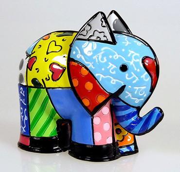 ELEPHANT Mini Figur Romero Britto – Bild 1