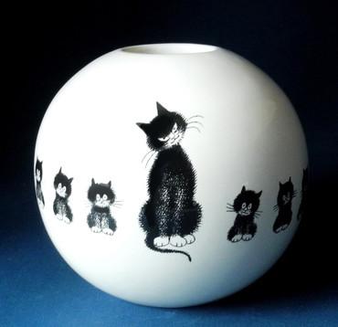 L' ALIGNEMENT Vase Albert Dubout – Bild 1
