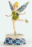 "DISNEY TRADITIONS - ""Tinker Bell - Ice Skating Pixie"" - Jim Shore Figur 4033268 001"