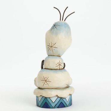 "DISNEY Skulptur - ""FROZEN SILLY SNOWMAN OLAF"" - Jim Shore Figur - 4039083 NEU !! – Bild 3"