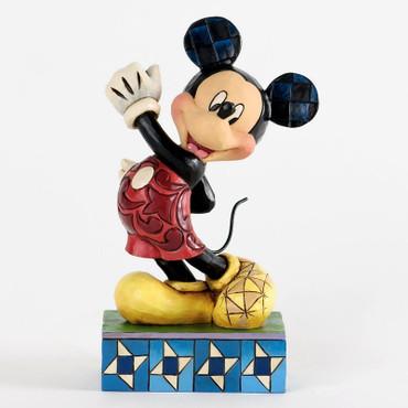 "DISNEY-Skulptur - ""MICKEY MOUSE - MODERN MICKEY"" - Jim Shore Figur 4033287 NEU!"