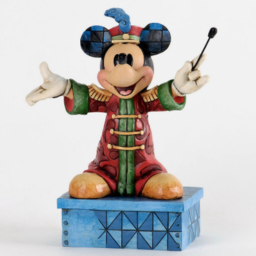 "DISNEY-Skulptur - ""MICKEY - Band Leader Mickey"" - Jim Shore Figur 4033284 - NEU!"