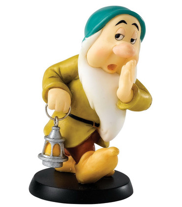 "DISNEY ENCHANTING COLLECTION - Zwerge - Figur - ""Sleepy"" - Tired Dwarf - A25978"